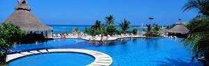 Resort Pool, Cancun, Mexico