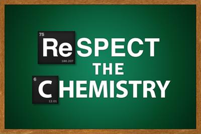 Respect the Chemistry Chalkboard
