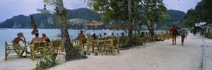 Restaurant on the Beach, Ko Phi Phi Don, Phi Phi Islands, Thailand