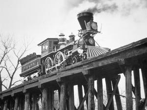 Restored American Locomotive the 'General', 1962