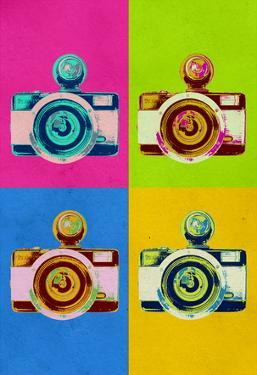 Retro Camera Pop Art Poster
