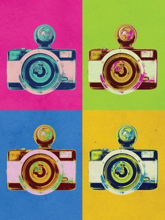 Retro Camera Pop Art Poster
