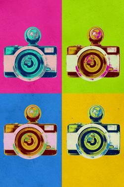 Retro Camera Pop Art