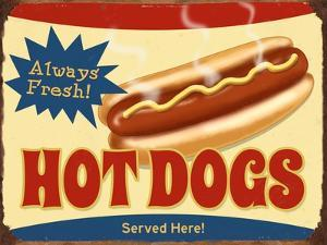 Always Fresh Hot Dogs by Retroplanet