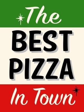 Best Pizza Stripe by Retroplanet