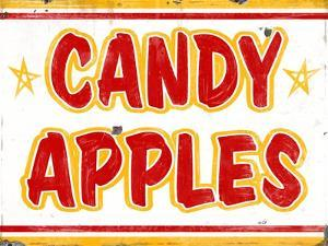 Candy Apples Rectangle by Retroplanet