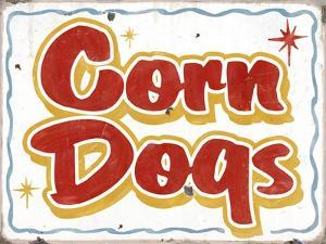 Corn Dogs Distressed by Retroplanet