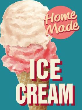 Home Made Ice Cream by Retroplanet