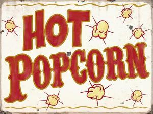 Hot Popcorn Distressed by Retroplanet