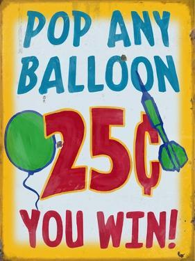 Pop Any Balloon Distressed by Retroplanet