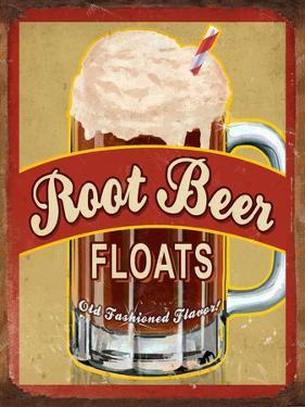Root Beer Float by Retroplanet