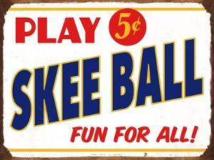 Skeeball Sign by Retroplanet