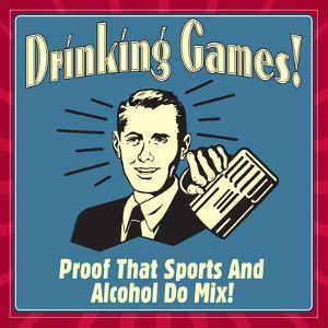 Drinking Games! Proof That Sports and Alcohol Do Mix! by Retrospoofs