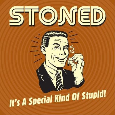 Stoned it's a Special Kind of Stupid!