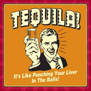 Tequila! it's Like Punching Your Liver in the Balls! by Retrospoofs