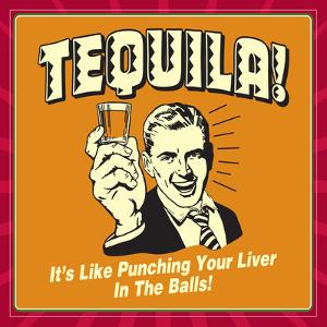 Tequila Punching Liver by Retrospoofs