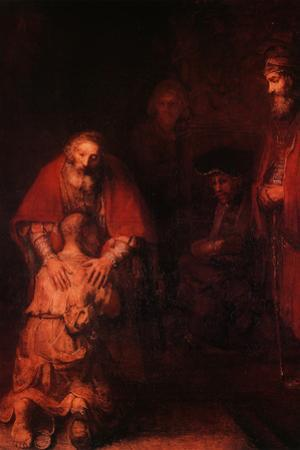 Return of the Prodigal Son, circa 1668-69