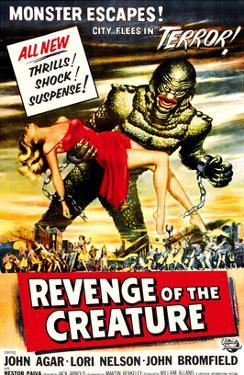 Revenge of the Creature, 1955