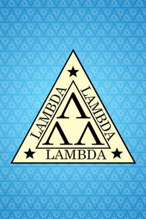 Revenge of the Nerds Movie Lambda Lambda Lambda Plastic Sign