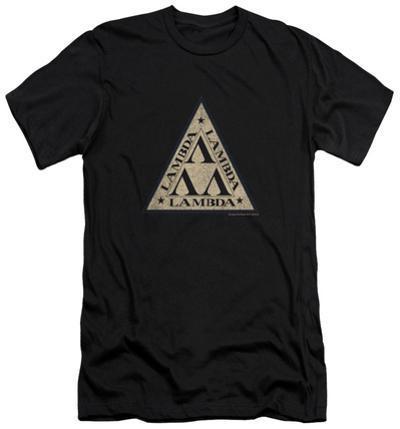 Revenge Of The Nerds - Tri Lambda Logo (slim fit)