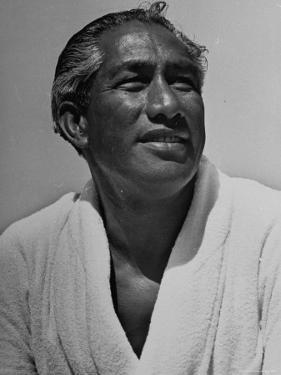Olympic Swimmer Duke Kahanamoku by Rex Hardy Jr.