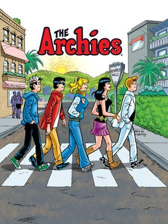 Archie Comics Cover: Archie Digest No.250 The Archies by Rex Lindsey