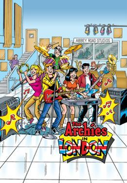 Archie Comics Cover: Archie Digest No.257 The Archies by Rex Lindsey
