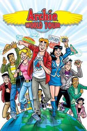 Archie Comics Cover: Archie World Tour