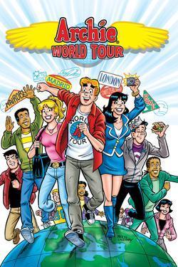 Archie Comics Cover: Archie World Tour by Rex Lindsey