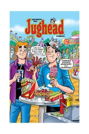 Archie Comics Cover: Jughead No.195 Carnival Food