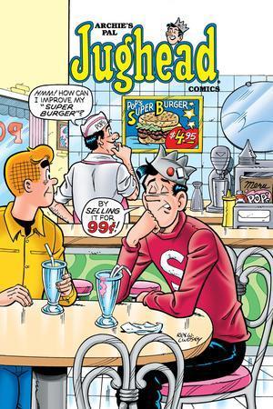 Archie Comics Cover: Jughead No.198 Pop's Super Burger