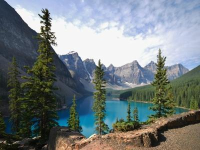 The Iconic View of Moraine Lake by Rex Montalban Photography