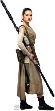 Rey - Star Wars VII: The Force Awakens Lifesize Standup