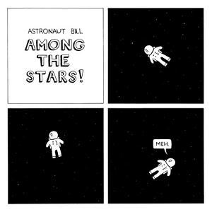 Astronaut Bill II by Reza Farazmand