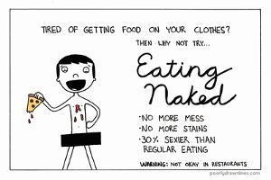 Eating Naked by Reza Farazmand
