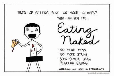 Eating Naked