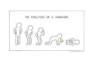 Evolution of a Hangover by Reza Farazmand
