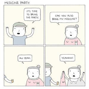 Medicine Party by Reza Farazmand