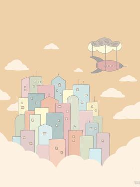 Sky City by Reza Farazmand