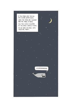 Space Whale by Reza Farazmand