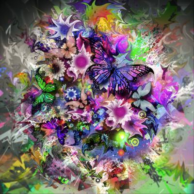 Butterfly Multicolor by reznik_val