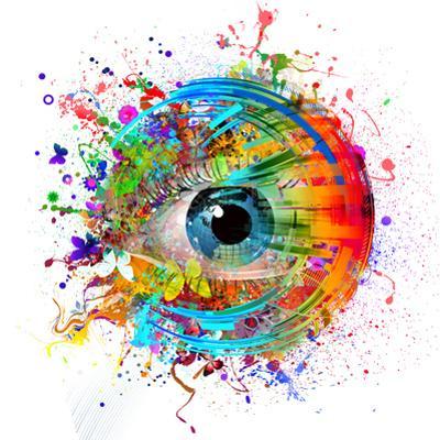 Eye Paint Splash by reznik_val