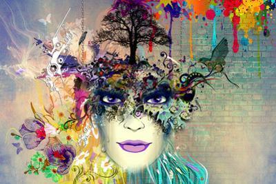Lady in Mask by reznik_val