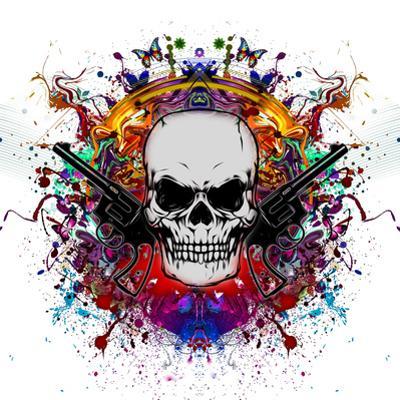 Skull in Color by reznik_val