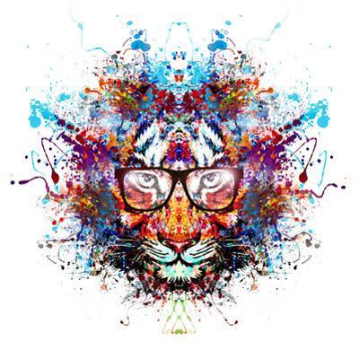 Tiger in Glasses by reznik_val