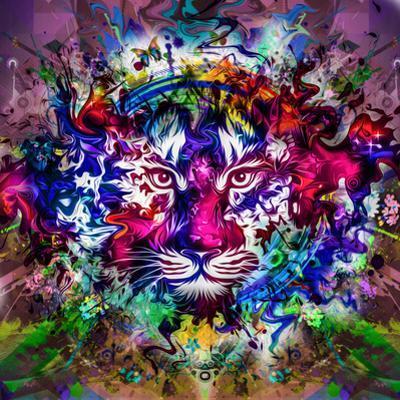 Tiger Multicolor by reznik_val