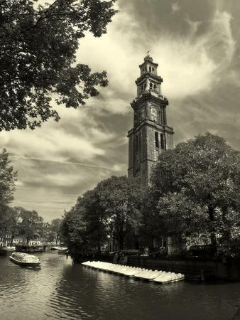 Amsterdam. Canal #6 (Sepia).