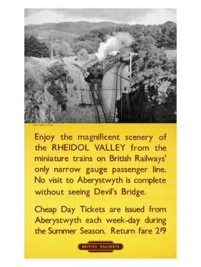 Rheidol Valley, Devil's Bridge