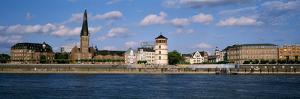 Rhine River, Dusseldorf, Germany