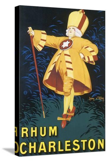Rhum Charleston-Jean D' Ylen-Stretched Canvas Print